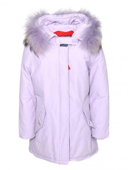 Куртка на молнии с капюшоном  - Общий вид