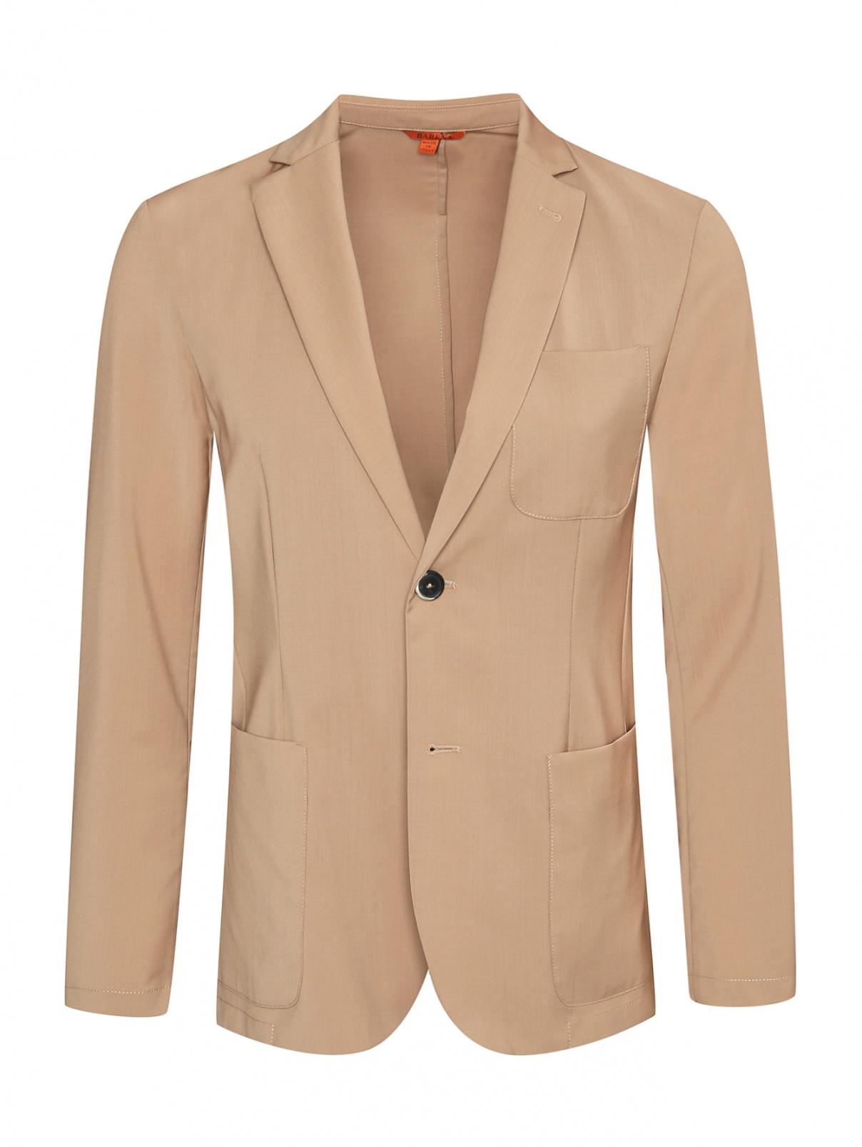 Пиджак из тонкой шерсти Barena  –  Общий вид