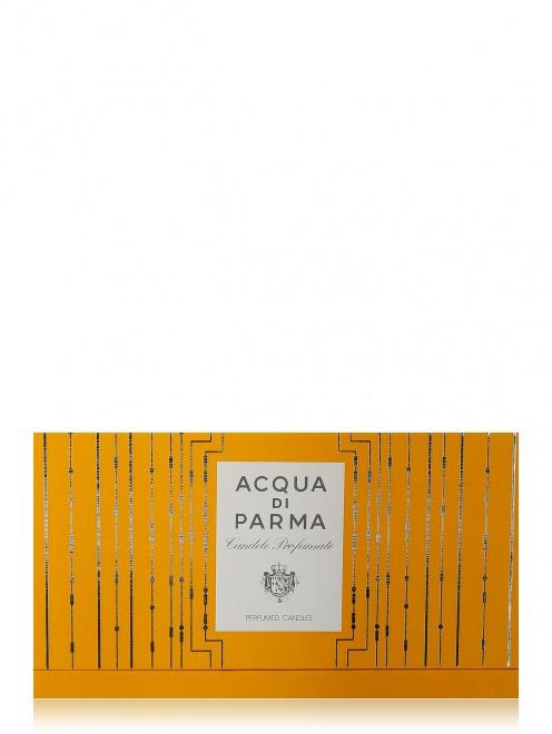 Набор свечей в стекле 3х65 г Xmas '17 Home Fragrance Acqua di Parma - Обтравка2
