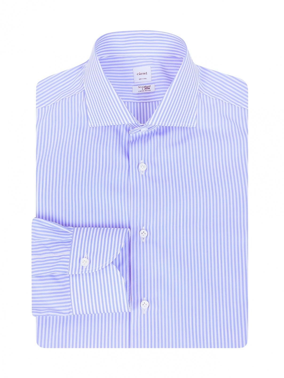 Рубашка из хлопка с узором Carrel  –  Общий вид