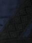 Шарф из смешанного шелка с кружевной отделкой Barbara Bui  –  Деталь