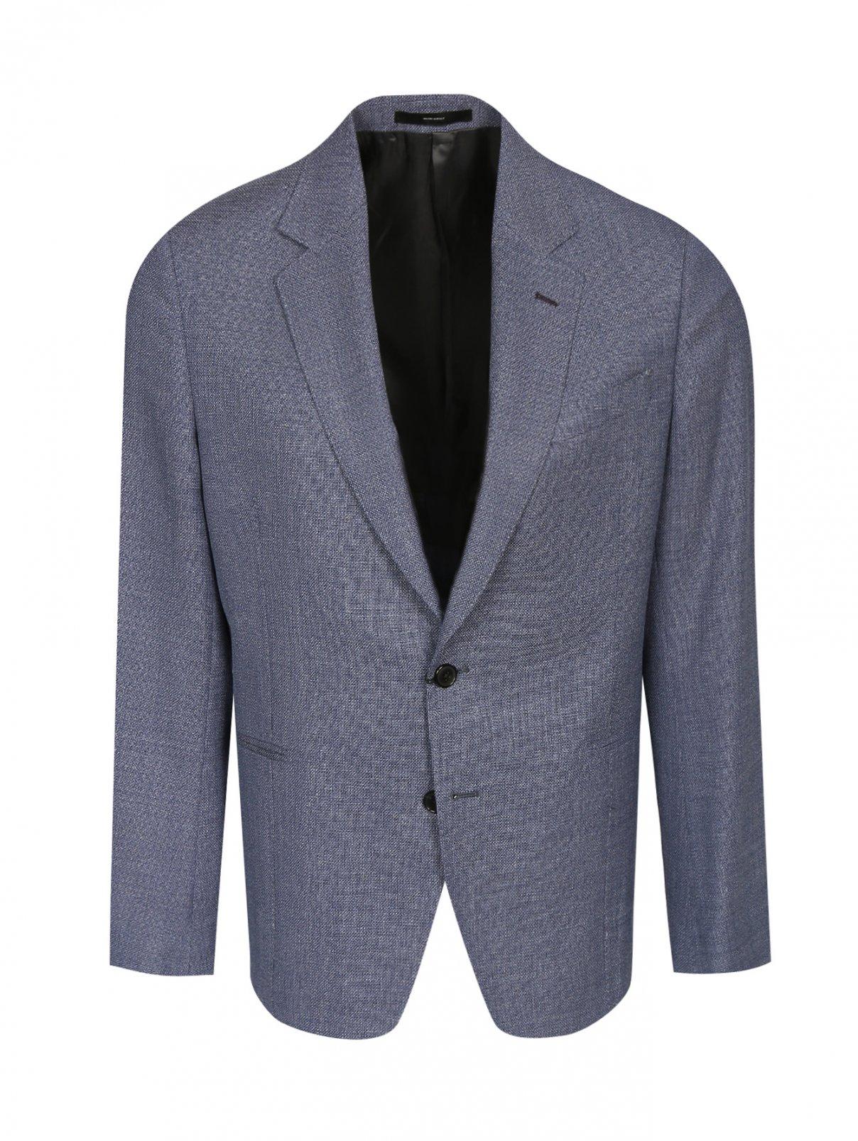 Пиджак однобортный из шерсти Paul Smith  –  Общий вид