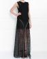 Платье-макси с кружевом и декоративными молниями Jay Ahr  –  Модель Общий вид
