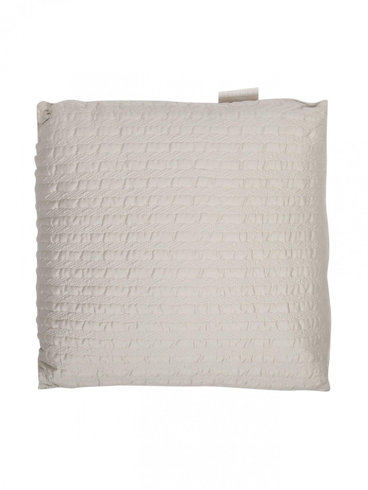 Подушка из текстурной хлопковой ткани 50 x 50 La Perla  –  Общий вид