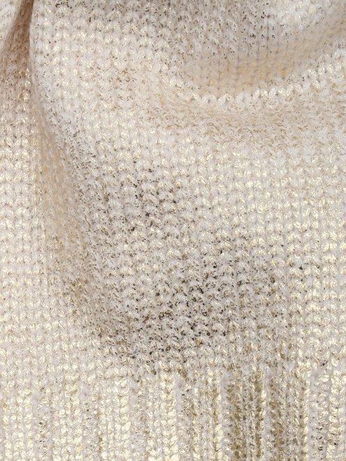 Шапка с металлизированным покрытием Catya - Деталь