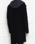 Пальто из шерсти с подкладом Moncler  –  МодельВерхНиз1