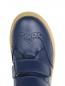 Ботинки из гладкой кожи на контрастной подошве Gallucci  –  Обтравка3