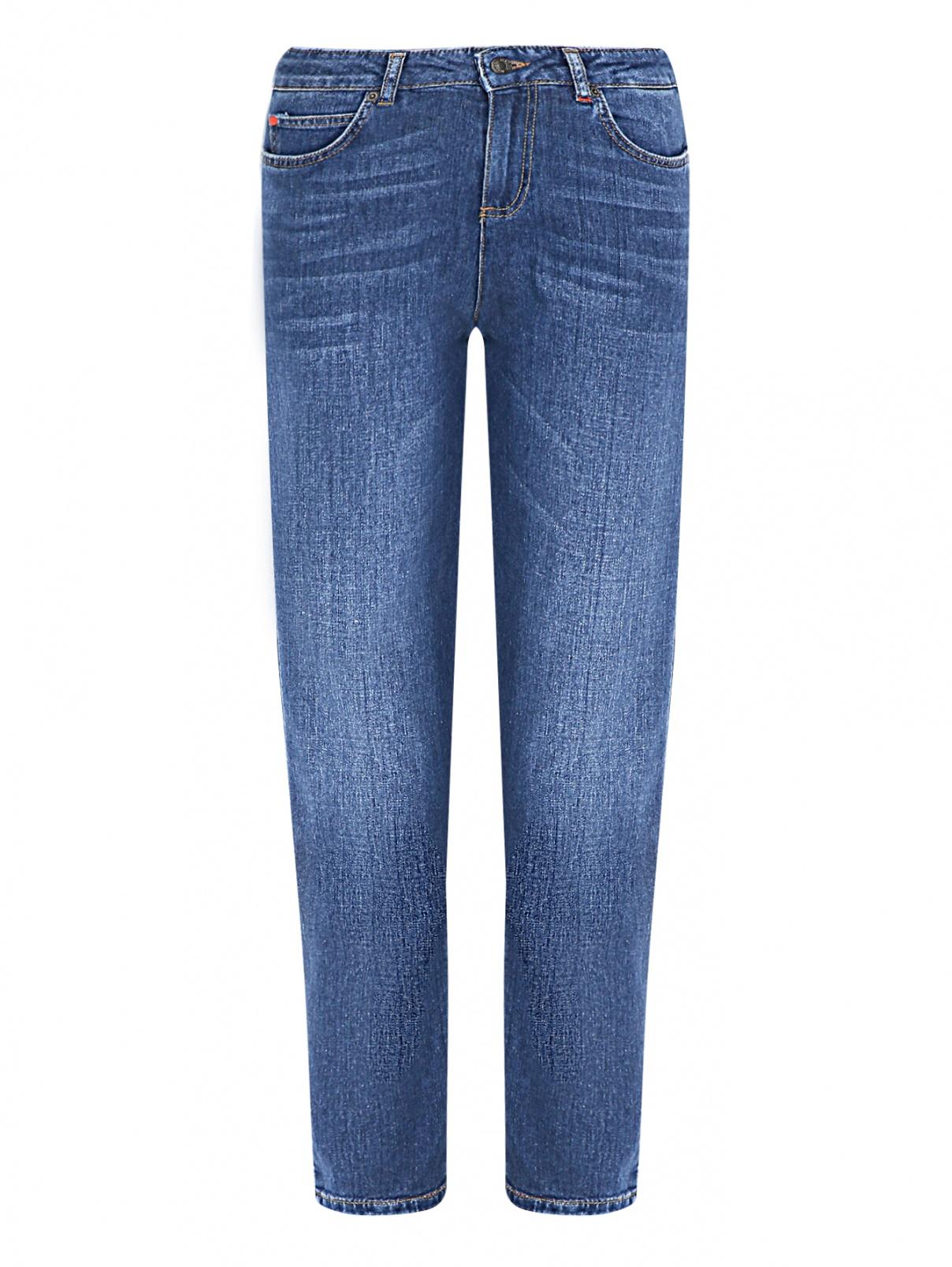 Укороченные джинсы с потертостями Max&Co  –  Общий вид