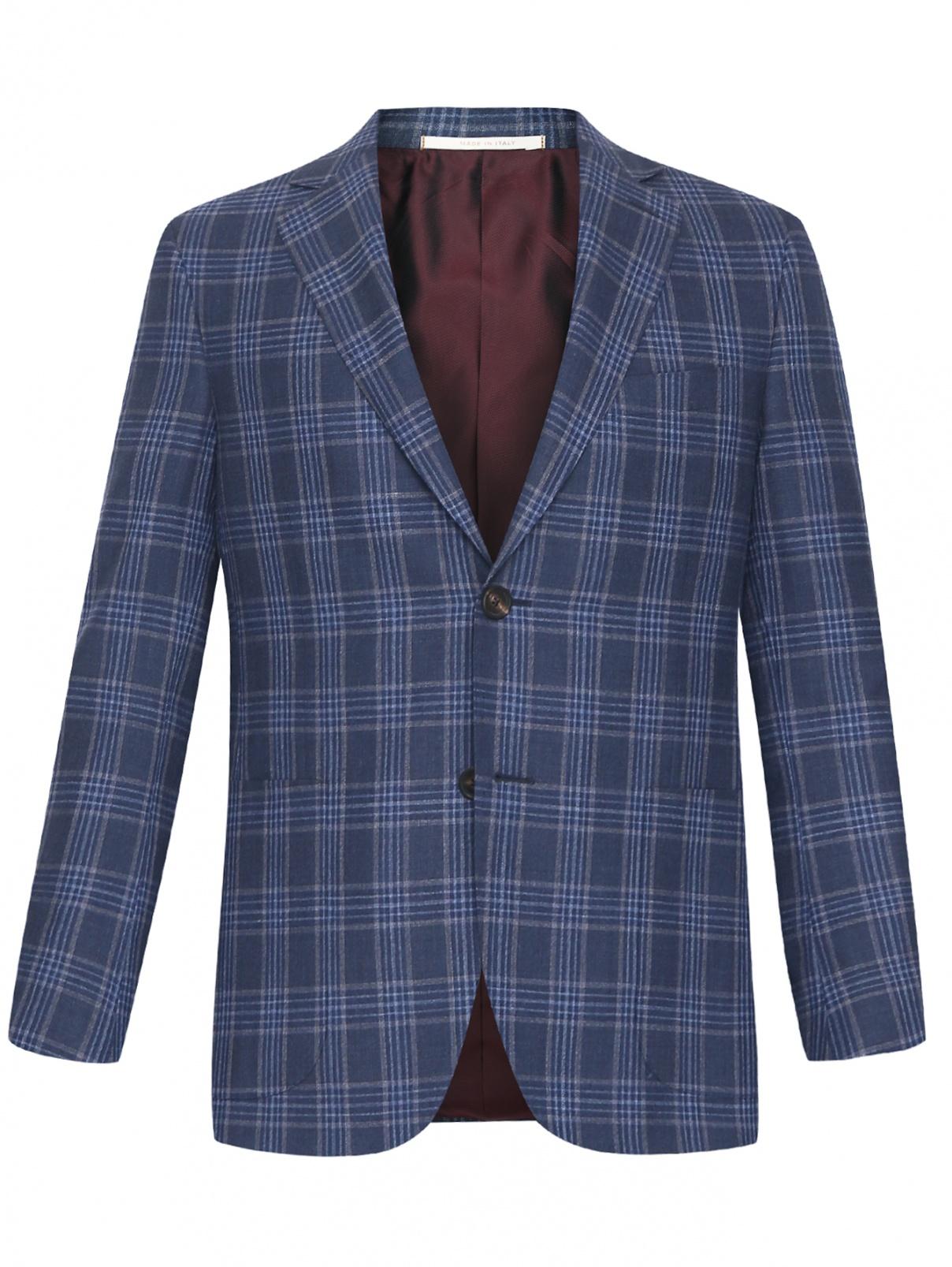 Пиджак из шерсти с узором Pal Zileri  –  Общий вид