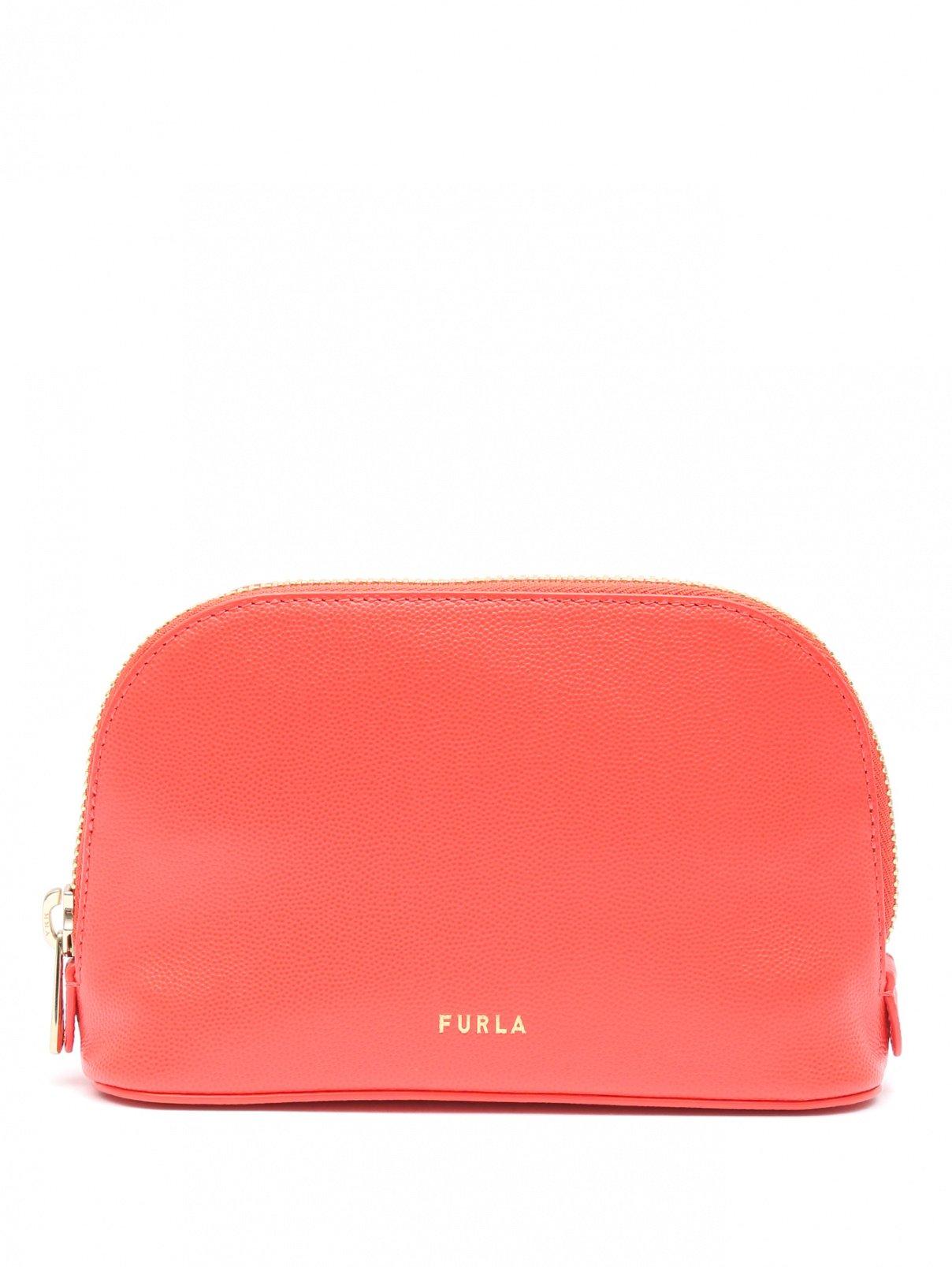 Поясная сумка из фактурной кожи Furla  –  Общий вид