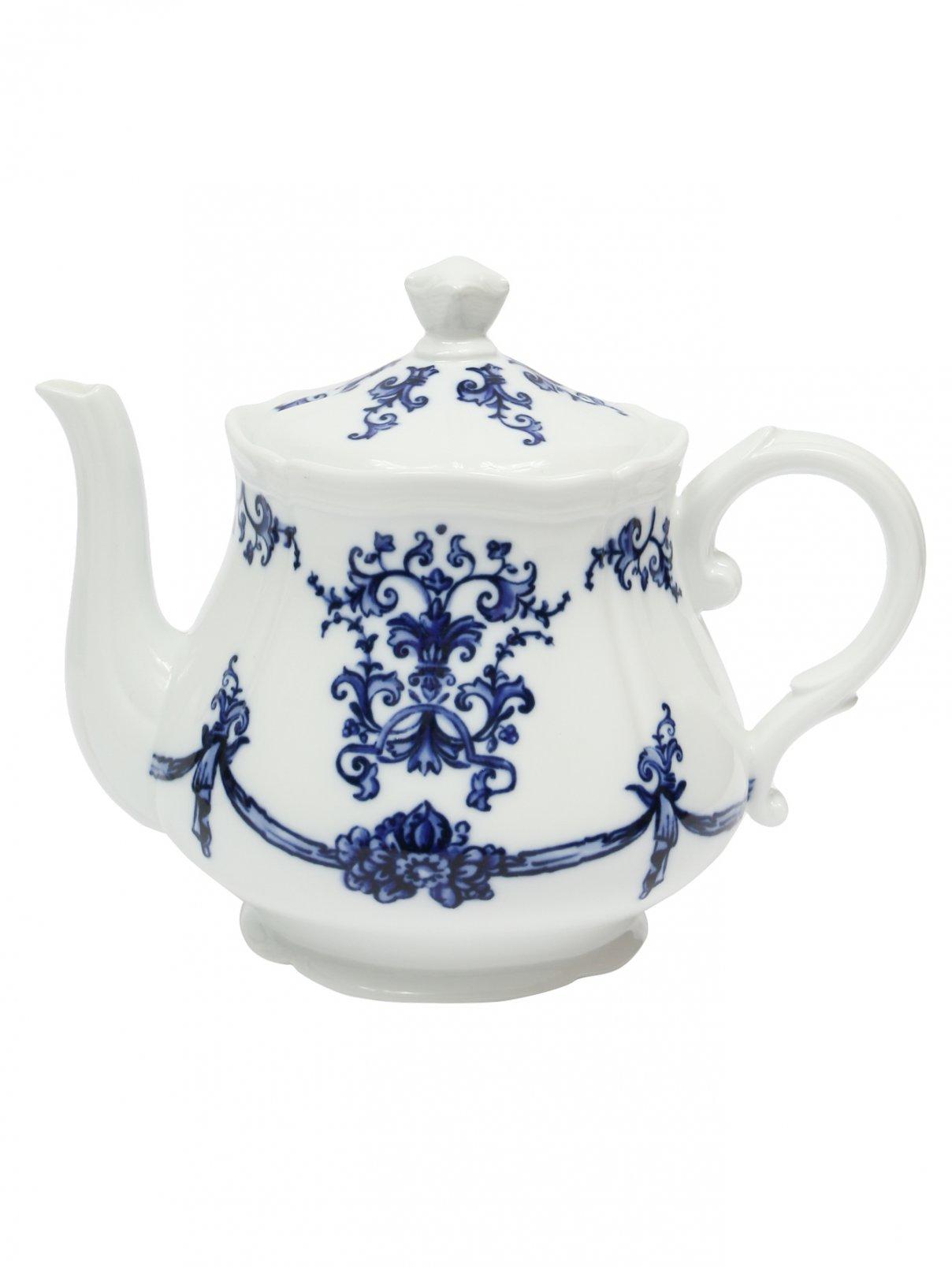 Чайник из фарфора с орнаментом Richard Ginori 1735  –  Общий вид