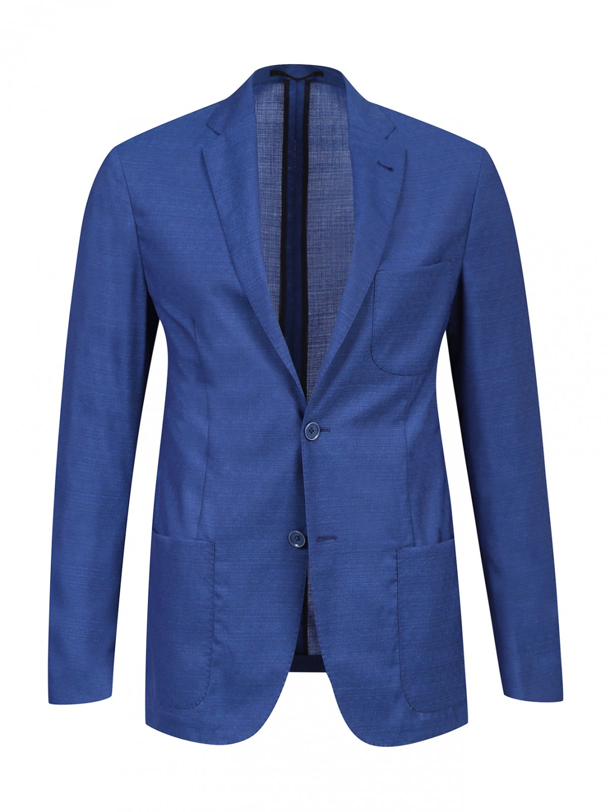 Легкий пиджак из шерсти Corneliani ID  –  Общий вид