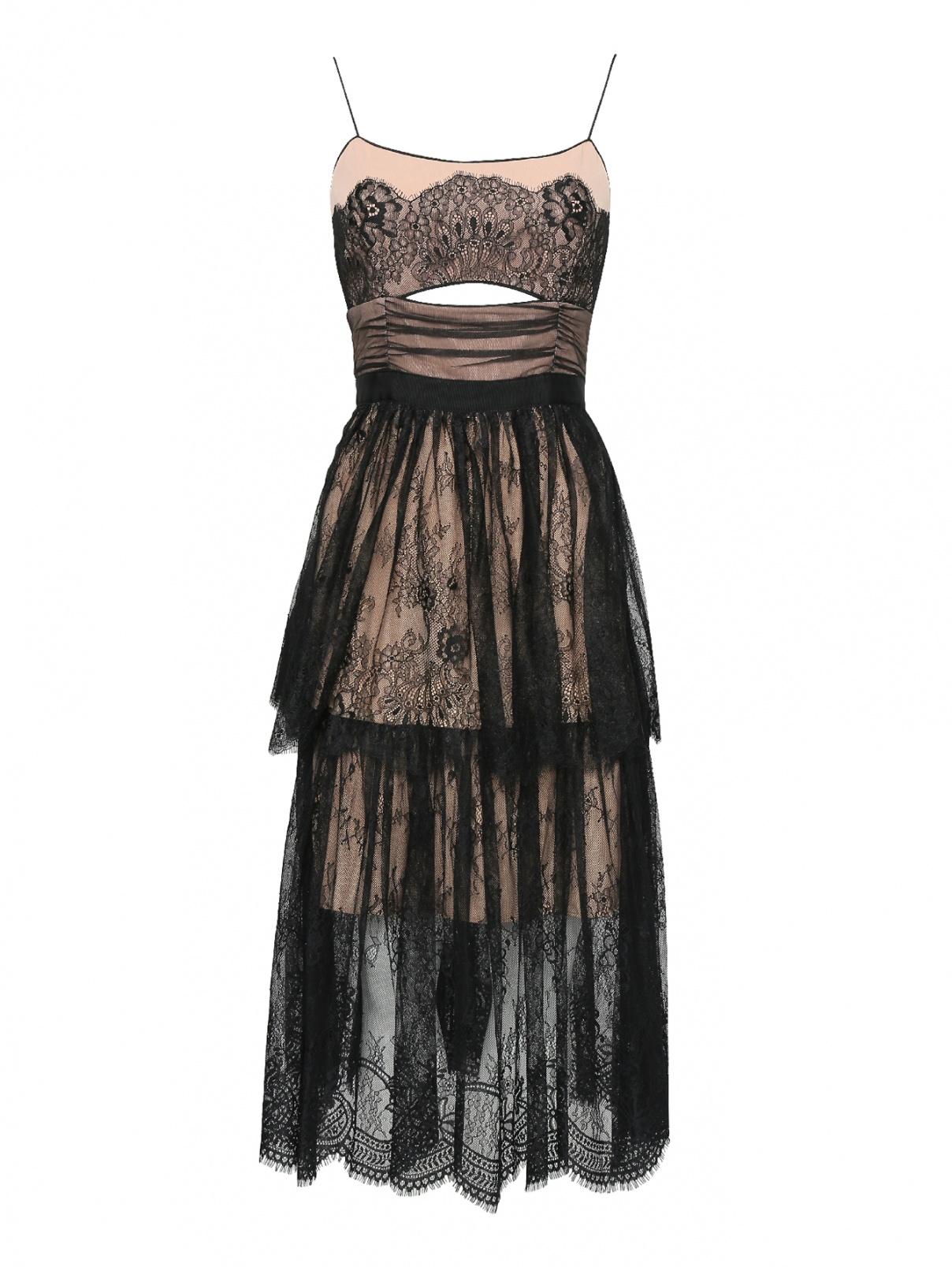 Платье миди кружевное Self-Portrait  –  Общий вид