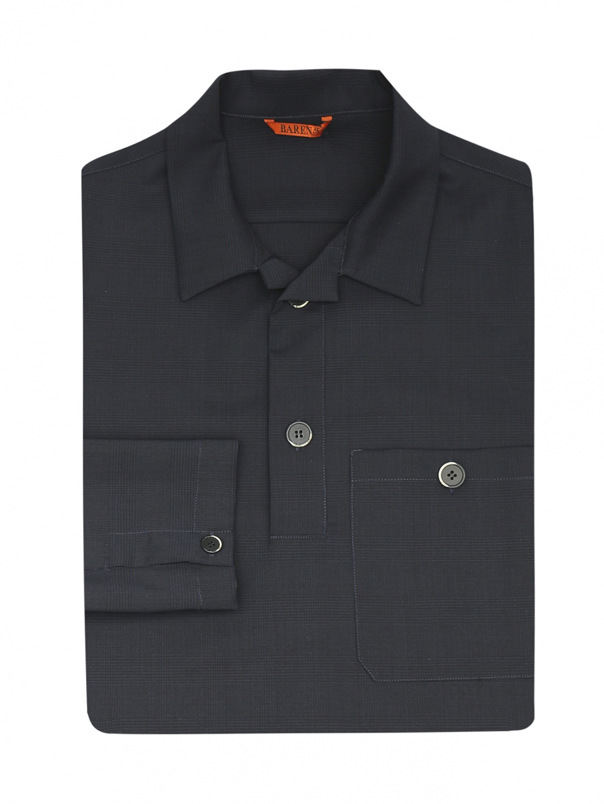 Рубашка из шерсти Barena  –  Общий вид