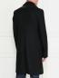 Пальто двубортное из шерсти Jean Paul Gaultier  –  Модель Верх-Низ1