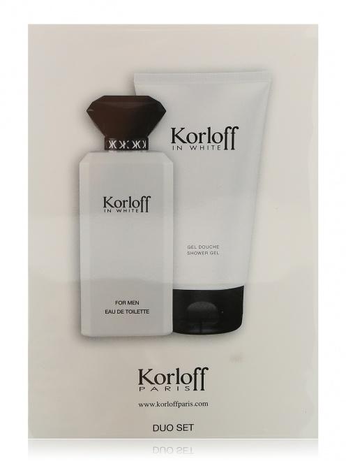 Набор с парфюмерной водой Korloff in White Korloff - Общий вид
