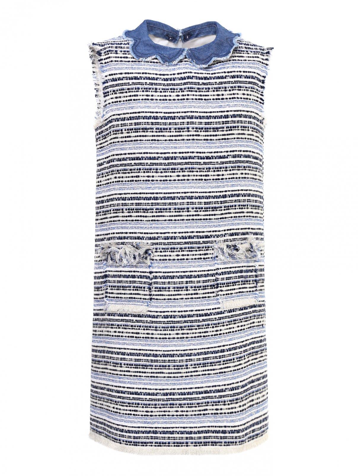 Платье-трапеция с карманами Il Gufo  –  Общий вид