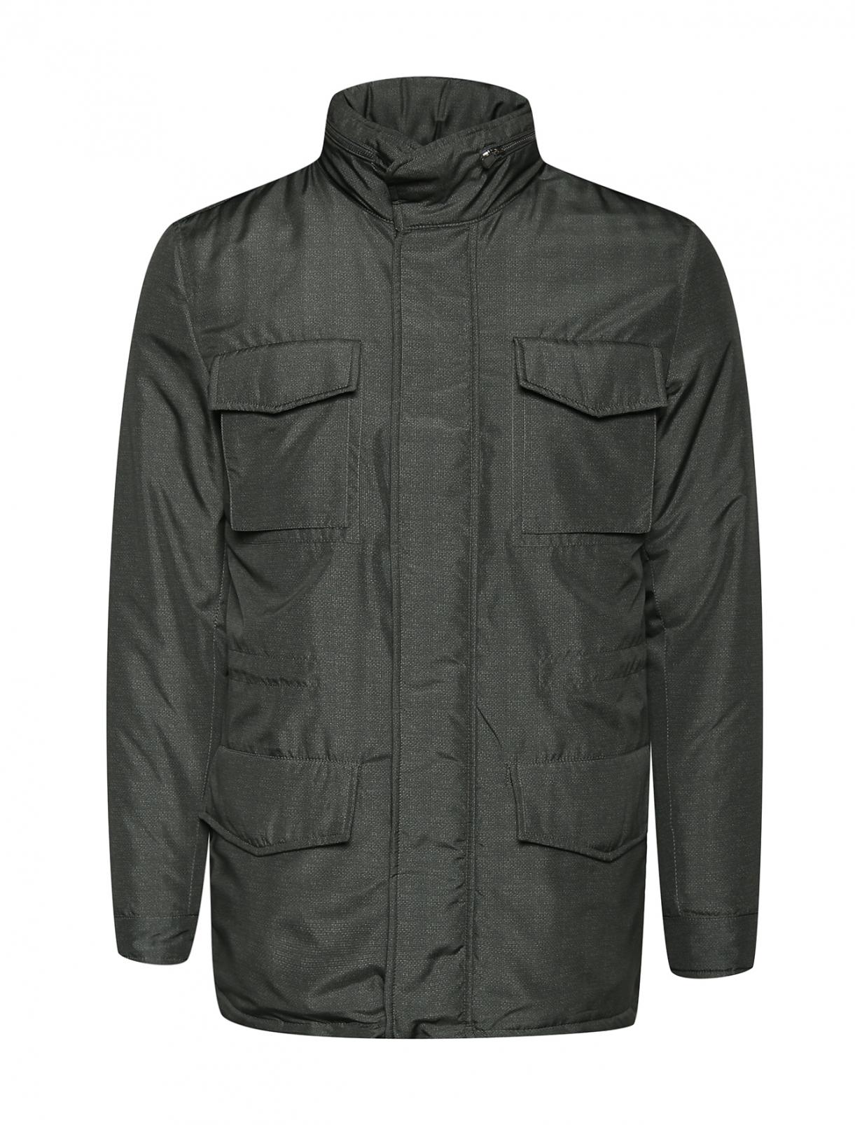 Куртка на молнии Isaia  –  Общий вид