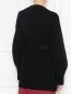Кардиган из шерсти и кашемира с отделкой люрексом Moncler  –  МодельВерхНиз1