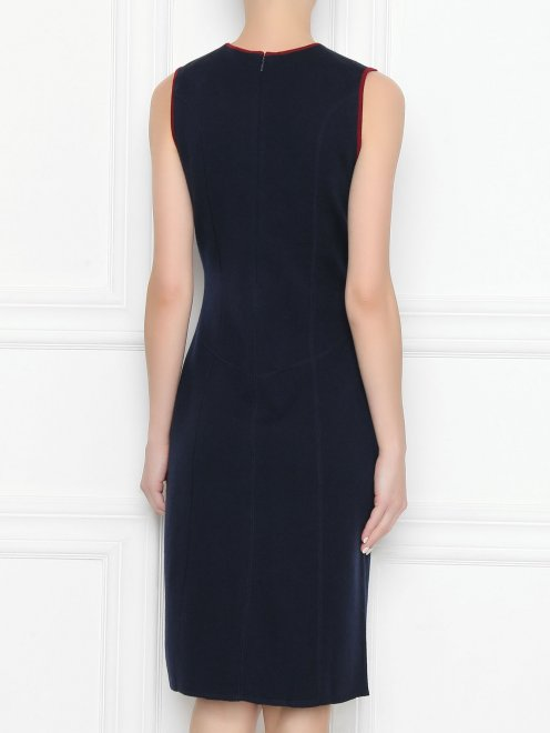 Платье из шерсти - МодельВерхНиз1