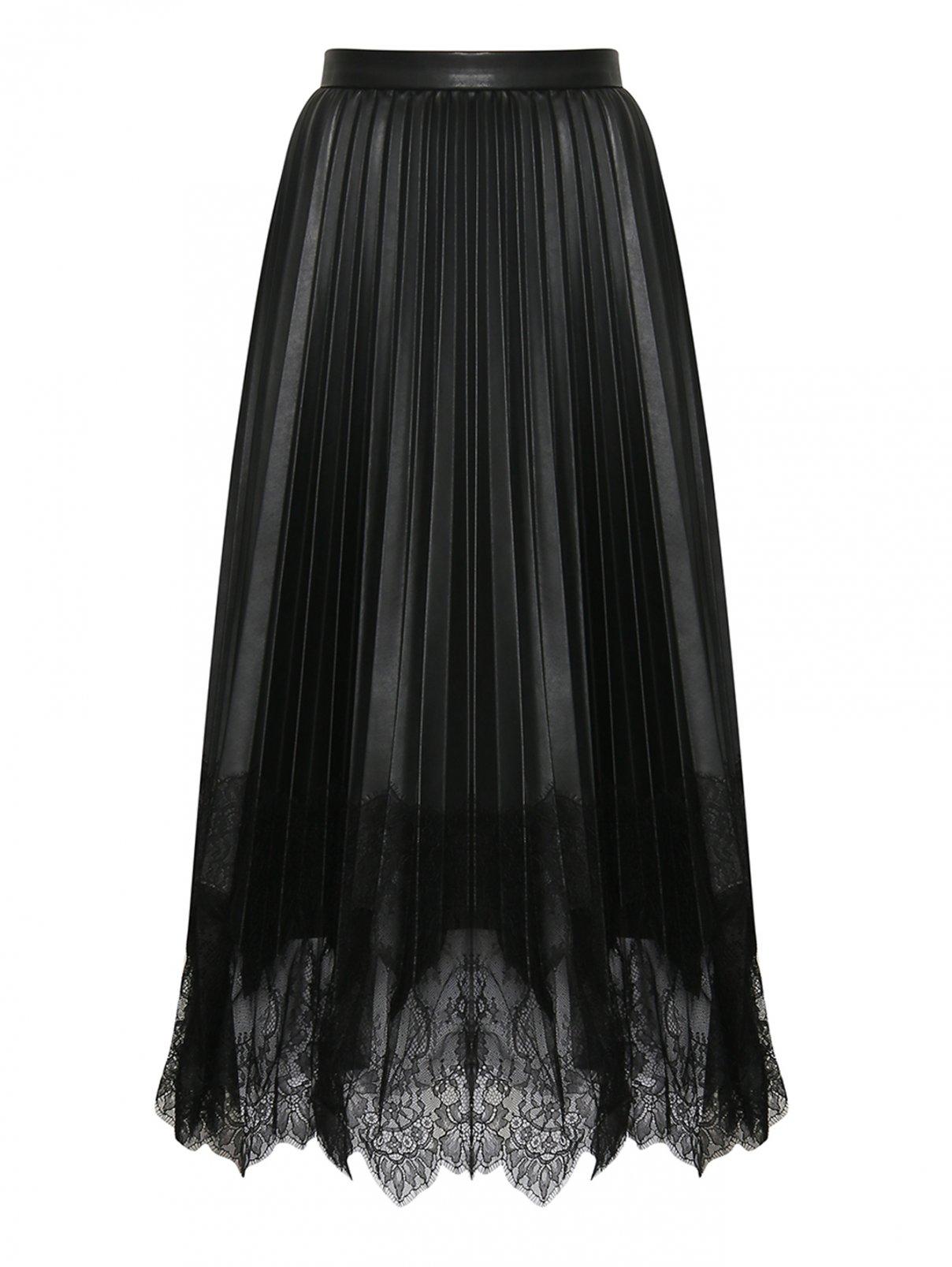 Юбка миди декорированная кружевом Ermanno Scervino  –  Общий вид