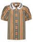 Блуза из хлопка в полоску Burberry  –  Общий вид
