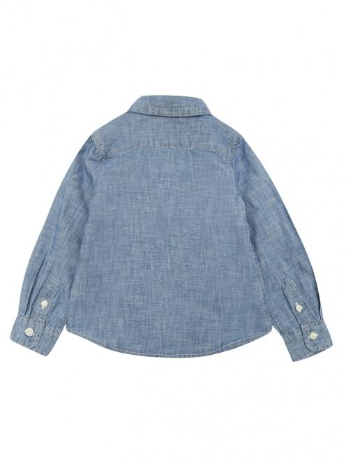 Блуза из денима - Общий вид