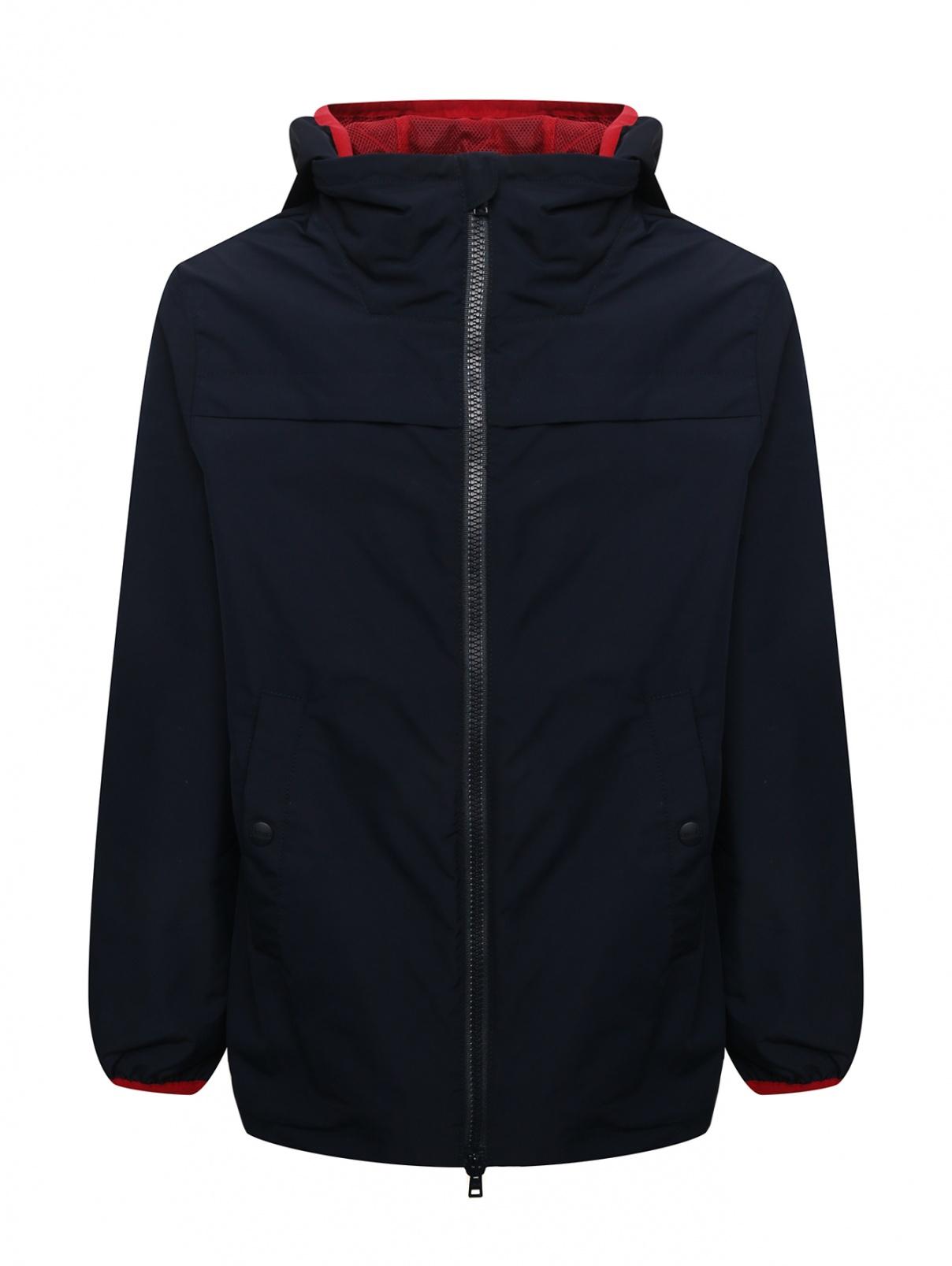 Куртка ветрозащитная с капюшоном Herno  –  Общий вид