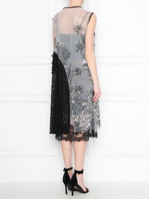Платье с цветочным узором Antonio Marras - МодельВерхНиз1