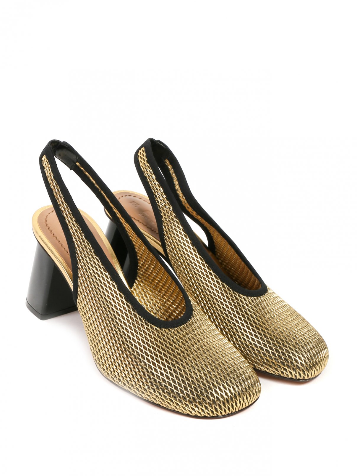 Туфли из кожи с открытой пяткой Marni  –  Общий вид