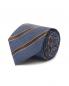Галстук из шелка с узором Borrelli  –  Общий вид