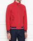 Куртка из хлопка на молнии Brooks Brothers  –  МодельВерхНиз