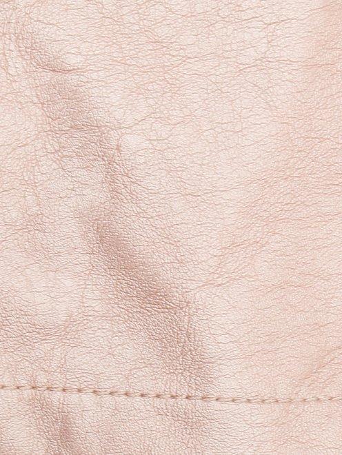 Куртка из экокожи в байкерском стиле Freedomday - Деталь1