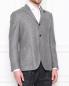 Пиджак из шерсти с карманами LARDINI  –  МодельВерхНиз