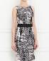 Платье из шелка с узором Max Mara  –  Модель Верх-Низ