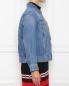 Джинсовая куртка из хлопка Marina Rinaldi  –  МодельВерхНиз2