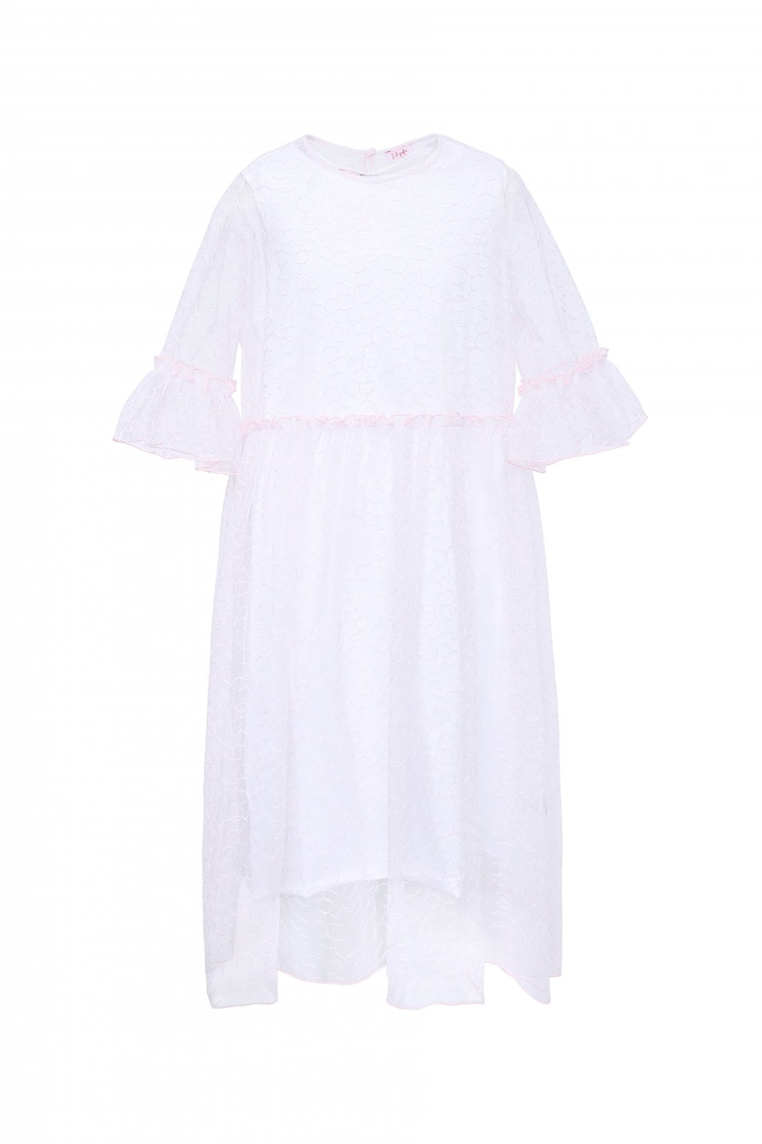 Платье с ажурной вышивкой Il Gufo  –  Общий вид