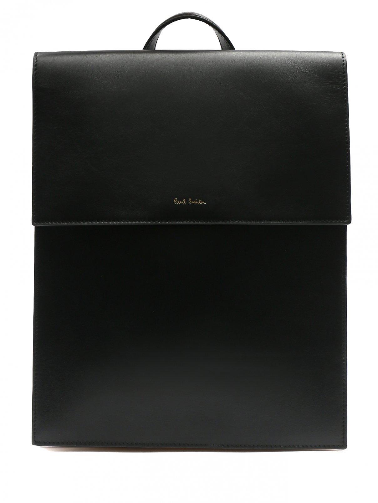 Рюкзак из гладкой кожи с контрастными вставками Paul Smith  –  Общий вид