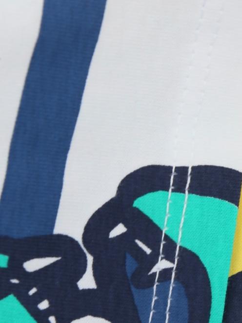 Футболка хлопковая с принтом Kenzo - Деталь