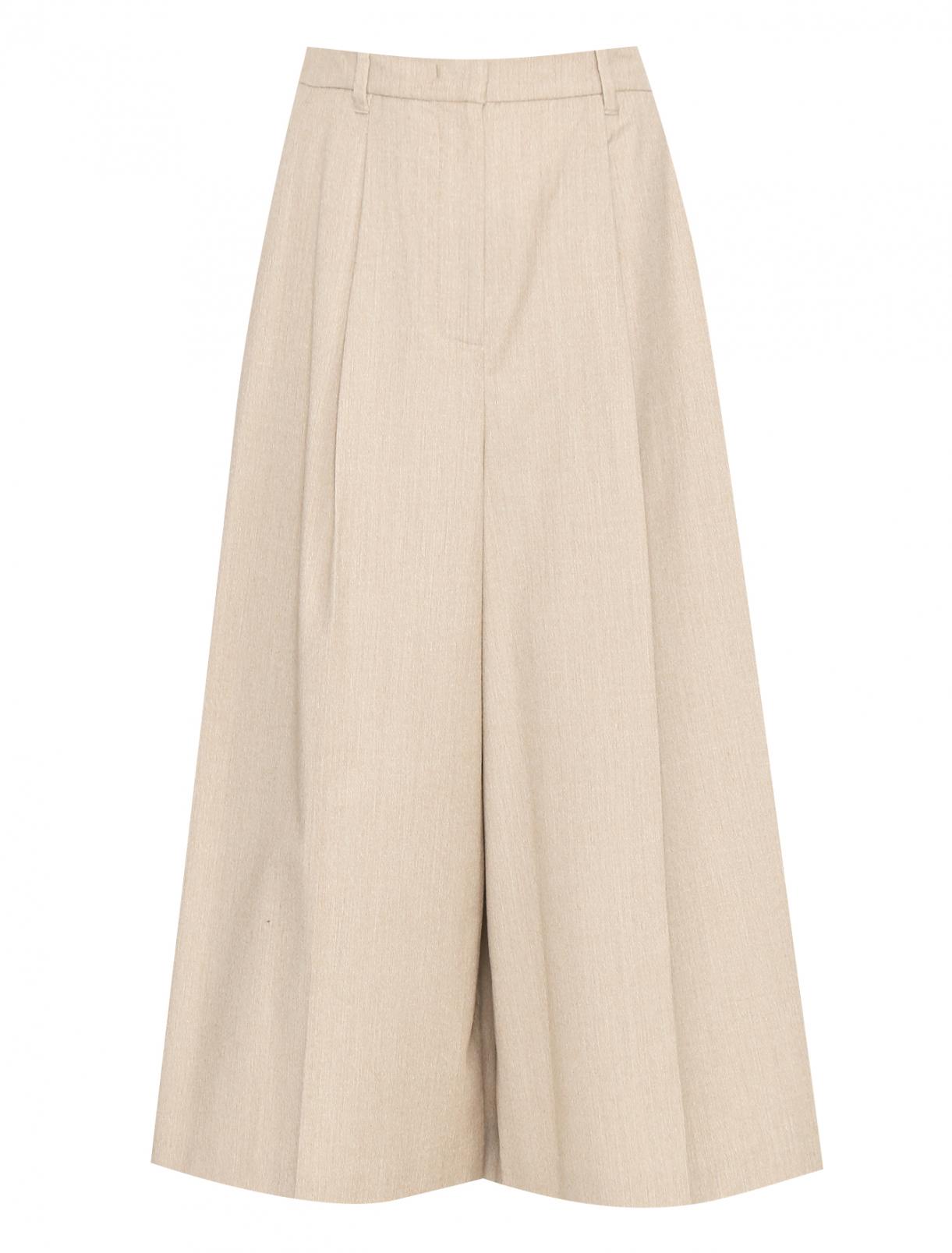 Укороченные брюки из шерсти Weekend Max Mara  –  Общий вид