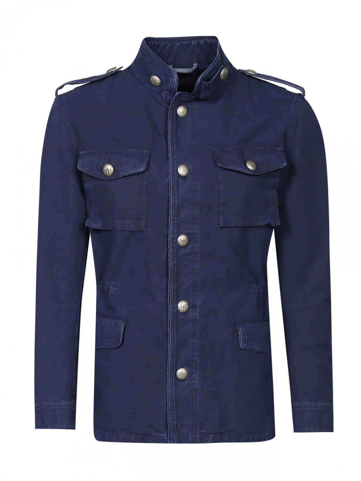 Куртка из хлопка на пуговицах G.Pasini  –  Общий вид