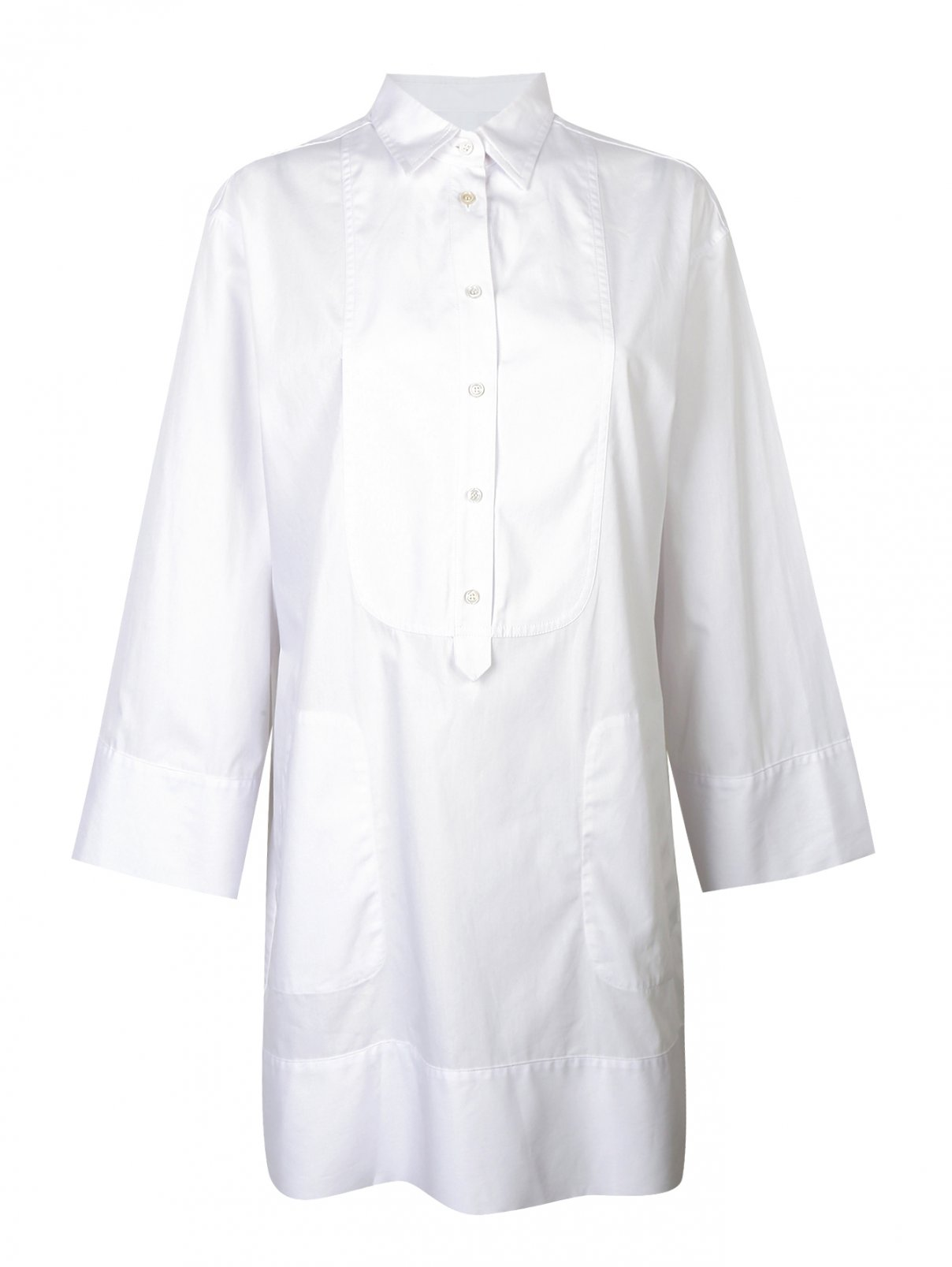 Платье-мини из хлопка свободного кроя Barbara Bui  –  Общий вид
