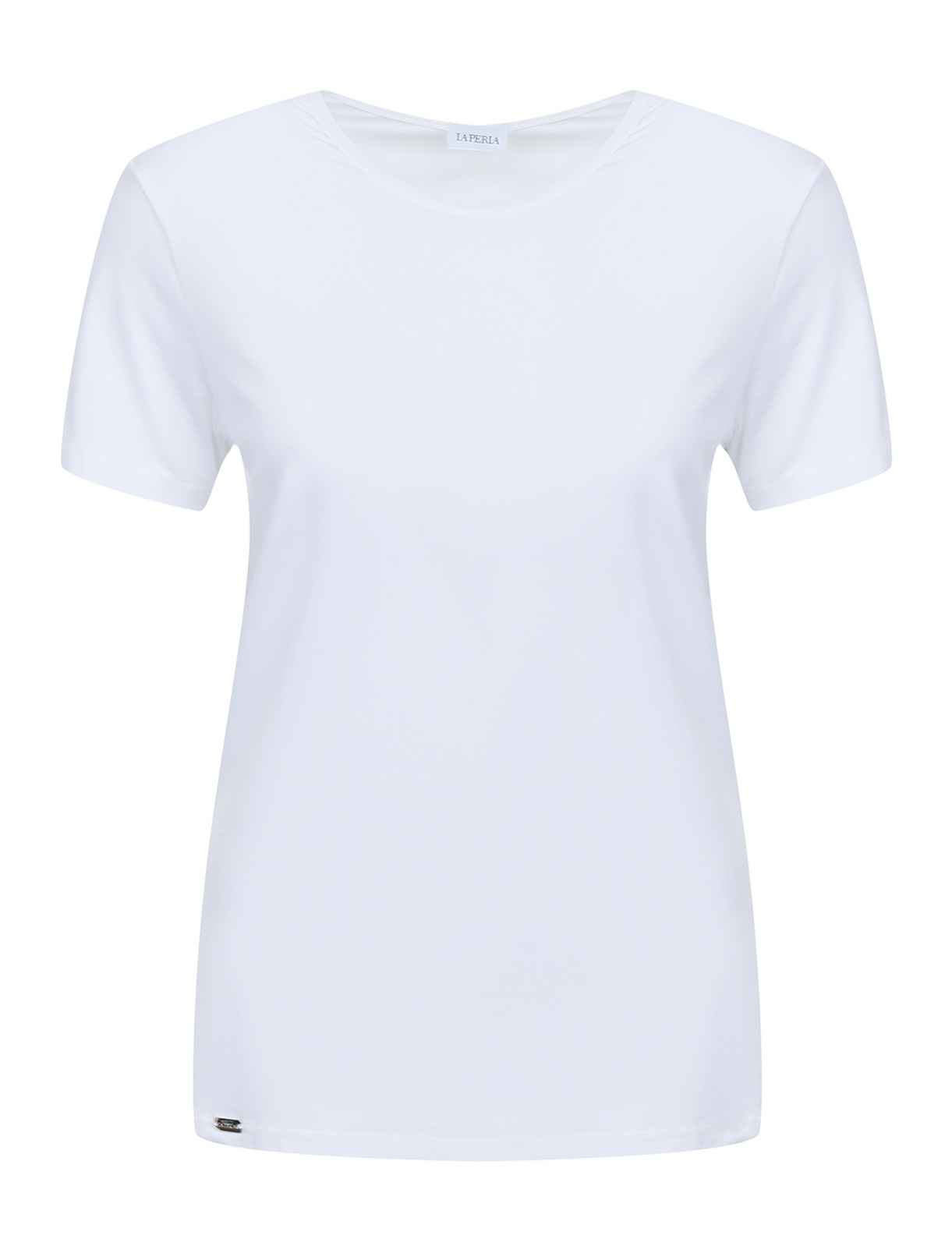 Базовая футболка из хлопка на бретелях La Perla  –  Общий вид