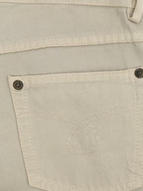 Брюки из хлопка с боковыми карманами - Деталь1