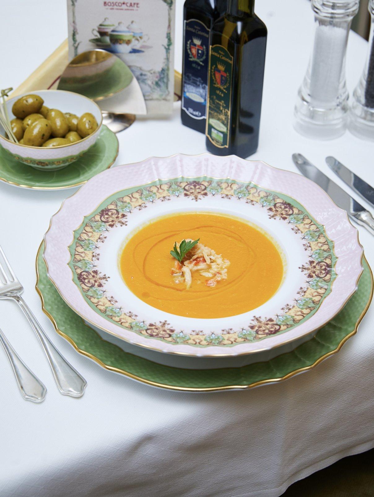 Суп из тыквы BoscoCafe  –  Общий вид