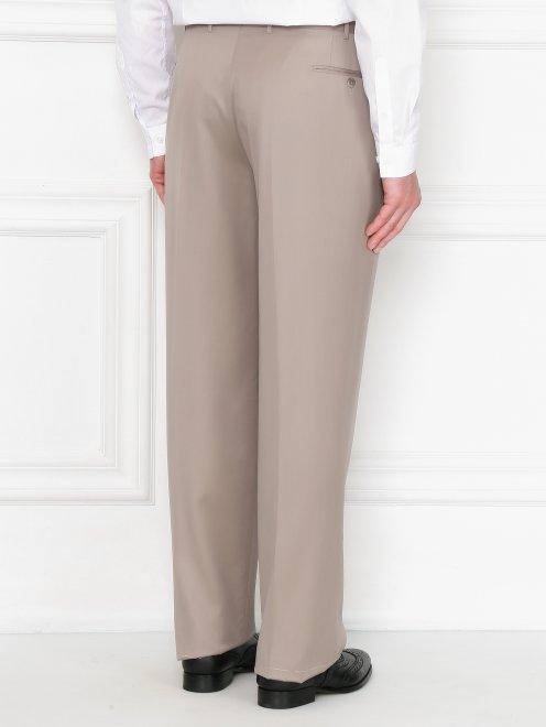 Классические брюки из шерсти - МодельВерхНиз1