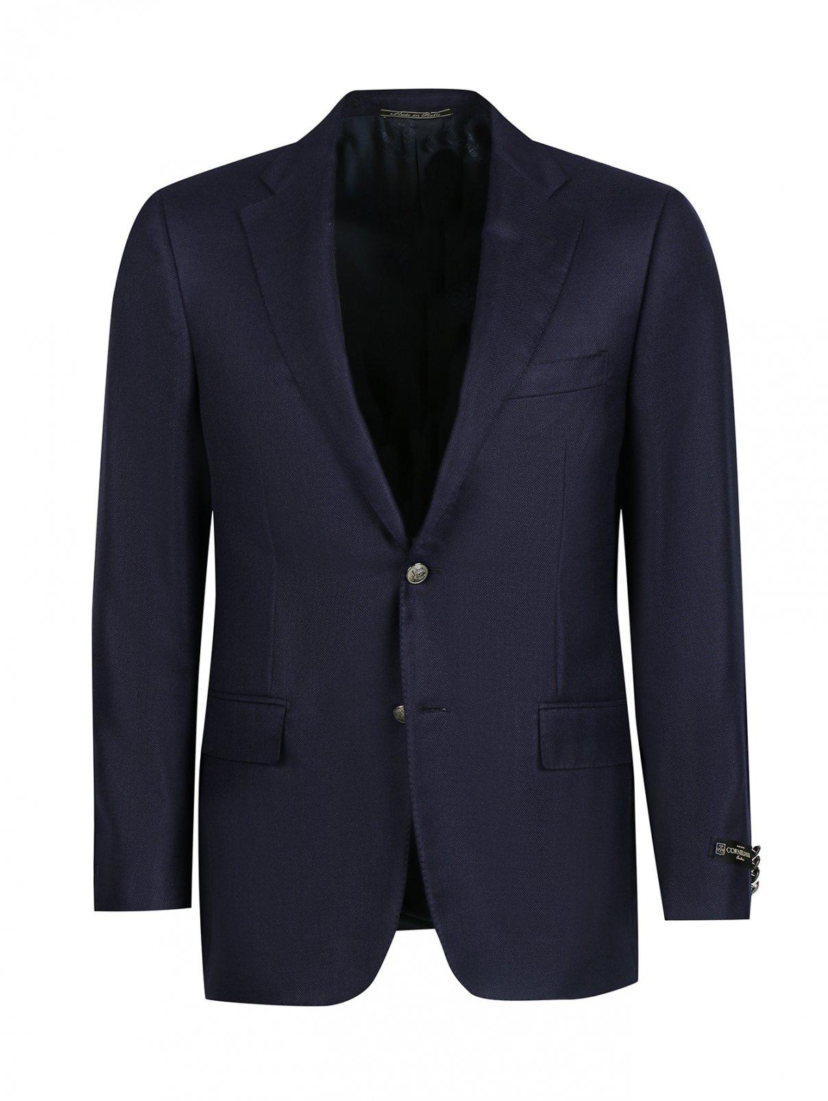 Пиджак из кашемира и шелка Corneliani  –  Общий вид