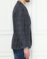 Пиджак из шерсти и хлопка с узором LARDINI  –  МодельВерхНиз2