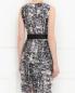 Платье из шелка с узором Max Mara  –  Модель Верх-Низ1