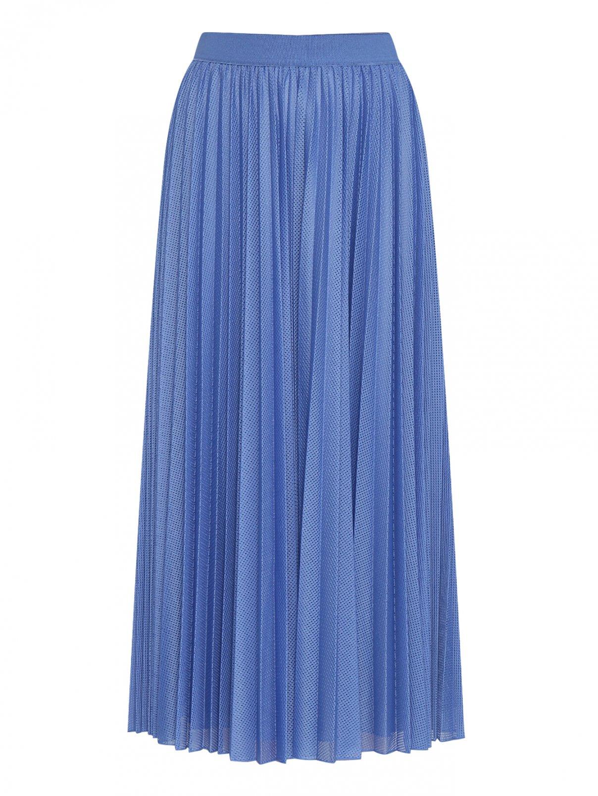 Плиссированная юбка миди на резинке Max&Co  –  Общий вид